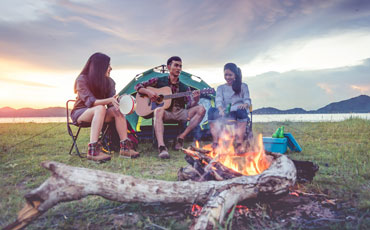 Camping themes