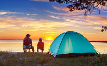 Your guide to family camping